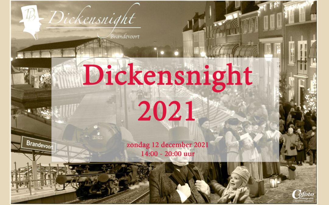 Dickensnight 2020 gaat helaas niet door!